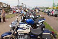 Classic bikes joining the show on Great Yarmouth seafrton