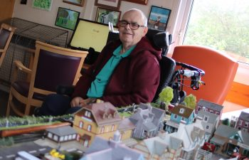 Richard Jex has plans to revamp the Centre 81 model railway on his return to the charity